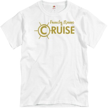 Unisex Family Cruise Tee Unisex Gildan Heavy Cotton Crew Neck Tee