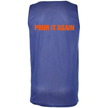 Pour It Again Pinnie Badger Sport Mesh Reversible Tank