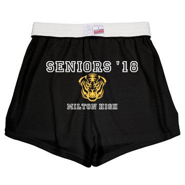 Seniors 2013 Shorts Junior Fit Soffe Cheer Shorts