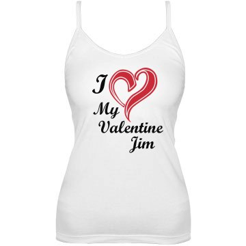 Valentine for Jim Bella Junior Fit Bra Cami