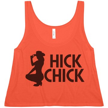 Neon Hick Chick Misses American Apparel Neon Oversized Crop Tank