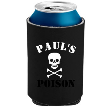 Paul's Poison Cozy The Official KOOZIE Can Kooler