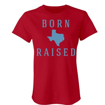 Bigger Than Texas Misses Relaxed Fit Basic Gildan Ultra Cotton Tee