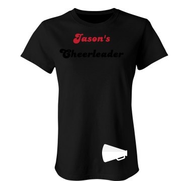 Jason's Cheerleader Junior Fit Bella Sheer Longer Length Rib Tee