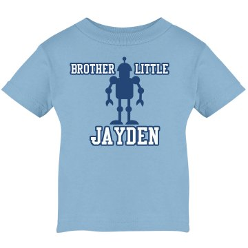 Little Brother Tee Infant Rabbit Skins Lap Shoulder Tee