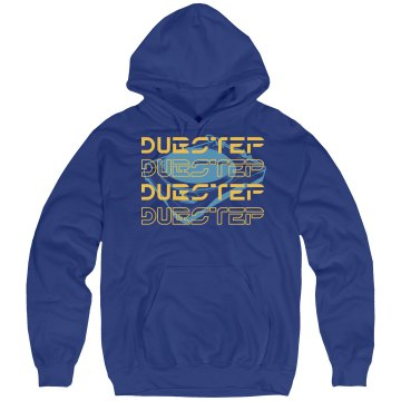 Dubstep Sci Fi Mix Unisex Hanes Ultimate Cotton Heavyweight Hoodie