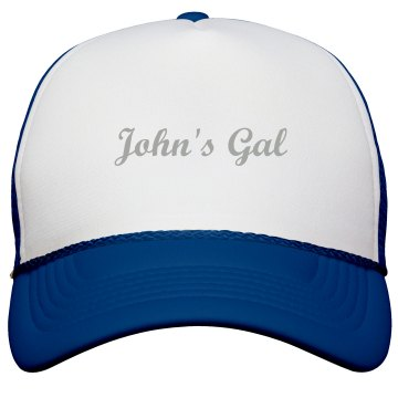 John's Gal Hat KC Caps Poly-Foam Snapback Trucker Hat