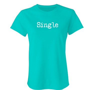 Single Tee Junior Fit American Apparel Fine Jersey Tee