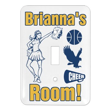 Lisa's Cheer Pride Cover Single Light Switch Cover