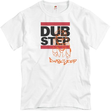 Tagged Dubstep Tee Unisex Basic Gildan Heavy Cotton Crew Neck Tee