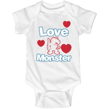 Love Monster Infant Rabbit Skins Lap Shoulder Creeper