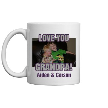Grandpa's Mug 11oz Ceramic Coffee Mug