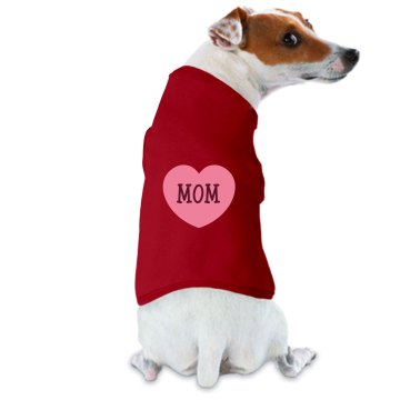 Mom Dog Tee Doggie Skins Dog Hoodie Tee