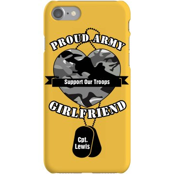 Army Girlfriend Case Plastic iPhone 5 Case Black