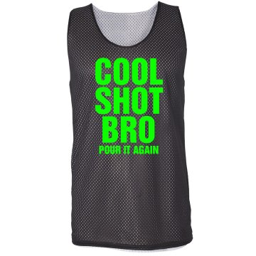 Cool Shot Bro Pinnie Badger Sport Mesh Reversible Tank
