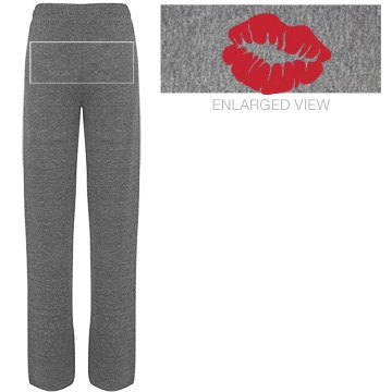 John's Girl Junior Fit Bella Straight Leg Fleece Sweatpant