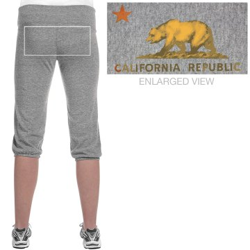 California Girl Pant Junior Fit Bella French Terry Lounge Pants