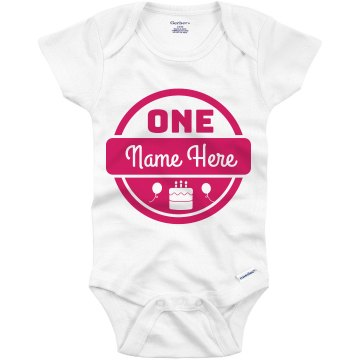 Annie's One Infant Gerber Onesies