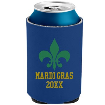 Mardi Gras Can Cooler The Official KOOZIE Can Kooler