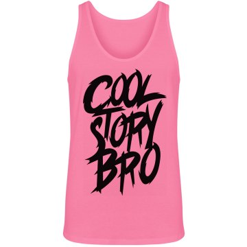 Cool Story Bro Unisex American Apparel Neon Tank