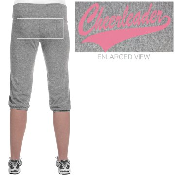 Cheer Emblem Junior Fit Bella French Terry Lounge Pants