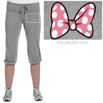 Varsity Cheerleader Junior Fit Bella French Terry Lounge Pants
