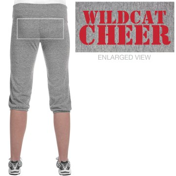 Wildcat Cheer Junior Fit Bella French Terry Lounge Pants