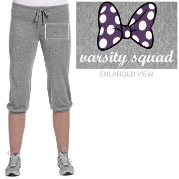 Varsity Squad Cheer Junior Fit Bella French Terry Lounge Pants