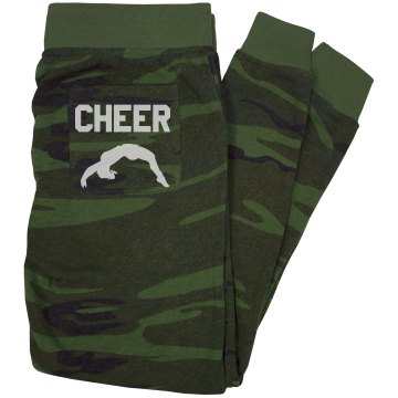 Cheerleader Silhouette Junior Fit Bella Straight Leg Fleece Sweatpant