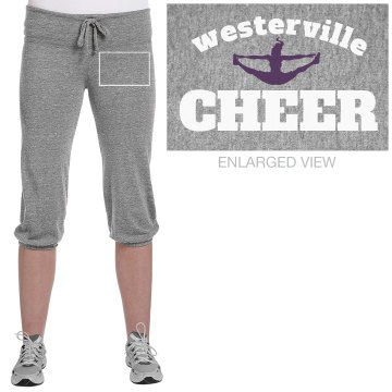 Westerville Cheer Junior Fit Bella French Terry Lounge Pants