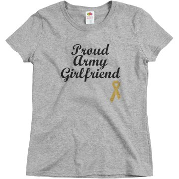 Proud Army GF Misses Relaxed Fit Basic Gildan Ultra Cotton Tee