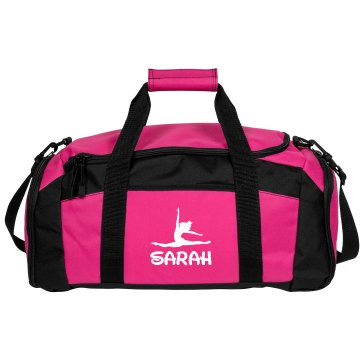 Custom Name Dance Bag Port & Company Large Square Duffel Bag