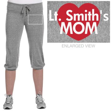 Lt. Smith's Mom Junior Fit Bella French Terry Lounge Pants
