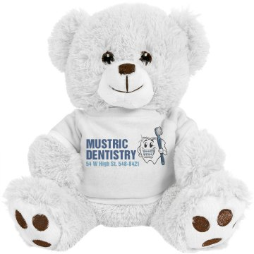 Dentist Bear Medium Plush Teddy Bear