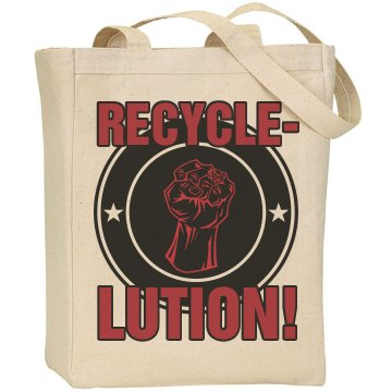 Recycle NOW Liberty Bags Canvas Tote