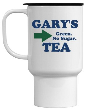 Gary's Travel Tea 15oz Travel Mug