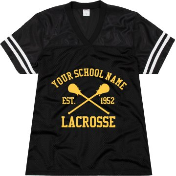 Lacrosse Fan Jersey Junior Fit Augusta Replica Football Jersey