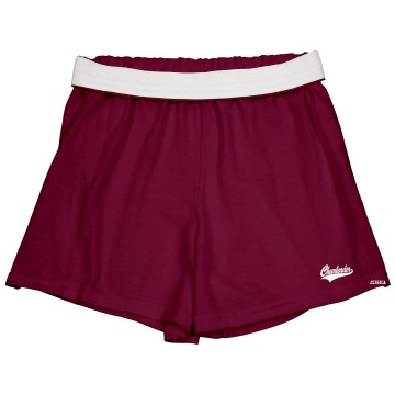 Cheerleader Short w/ Back Junior Fit Soffe Cheer Shorts
