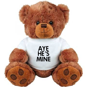 Aye He's Mine Teddy Medium Plush Teddy Bear