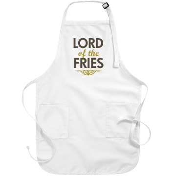 Lord of the Fries Basic White Apron