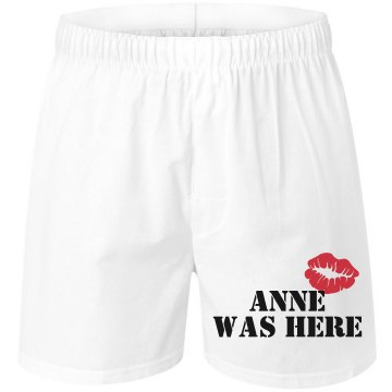 Anne Was Here Unisex Robinson Boxer Shorts