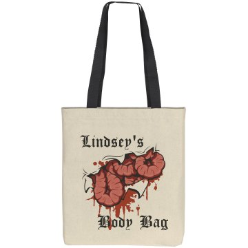 Lindsey's Body Bag Liberty Bags Cotton Canvas Tote