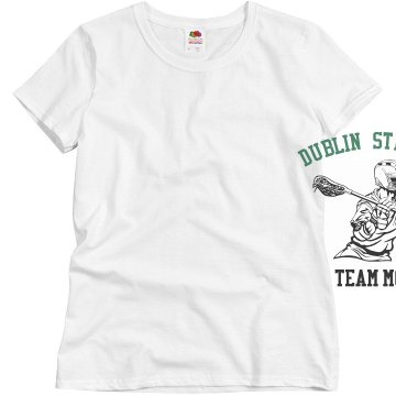 Dublin Strikers Mom Misses Relaxed Fit Basic Gildan Ultra Cotton Tee