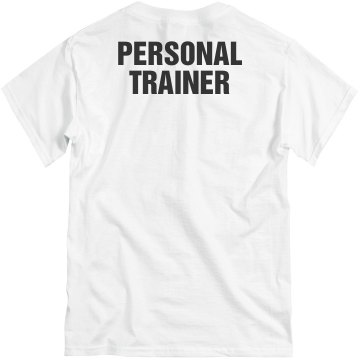 Personal Trainer Basics Unisex Basic Gildan Heavy Cotton Crew Neck Tee