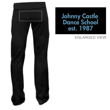 Johnny Castle Dance Junior Fit Bella Fitness Pants