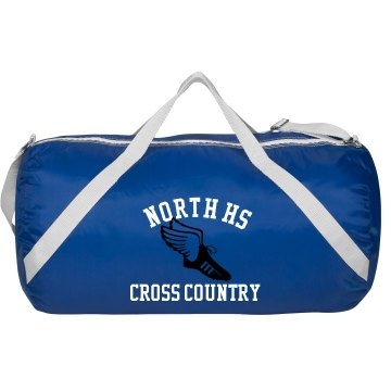 North HS Cross Country Augusta Sport Roll Bag