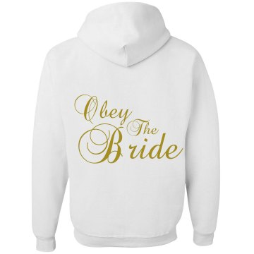 Obey The Bride Unisex Gildan Heavy Blend Full Zip Hoodie