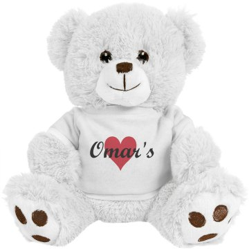 Omar's Bear Medium Plush Teddy Bear