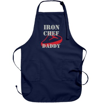 Iron Chef Daddy Port Authority Adjustable Full Length Apron