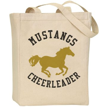 Your Team Name Cheer Liberty Bags Canvas Tote